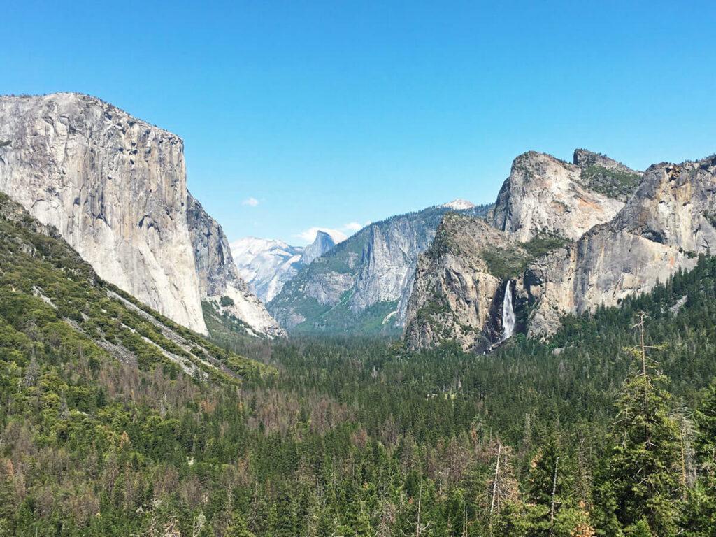 Blick ins Yosemite Valley vom Tunnel aus