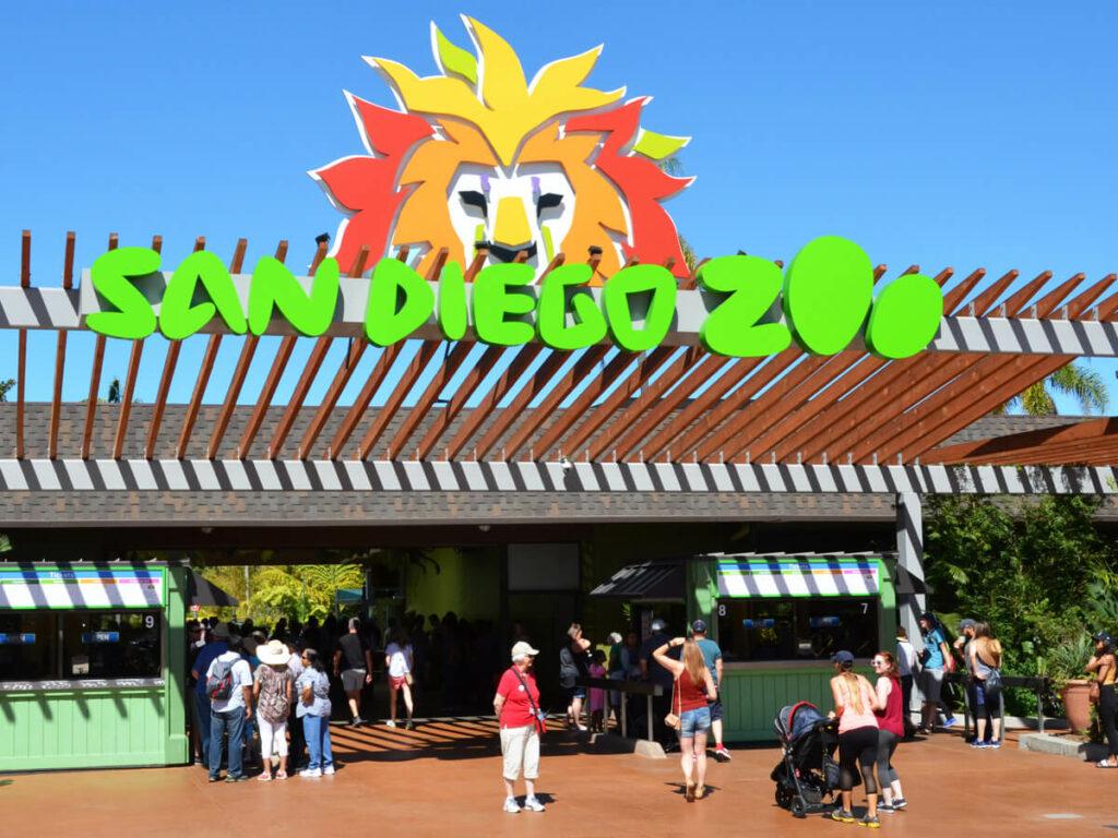 Eingang vom San Diego Zoo