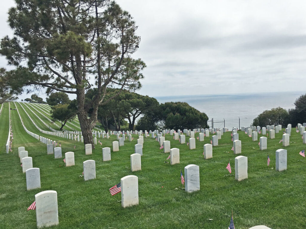 Soldantenfriedhof in San Diego