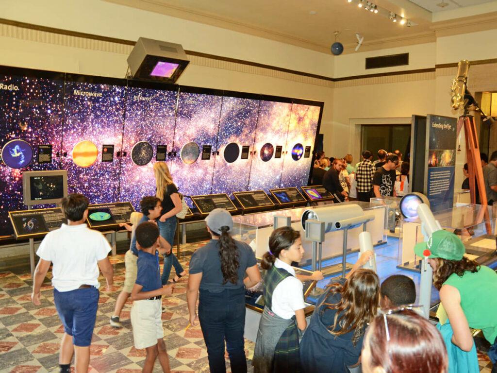Planetenübersicht im Griffith Observatorium