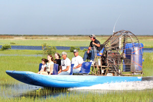 Nr. 1 der Sehenswürdigkeiten in Florida. Airboot fahren