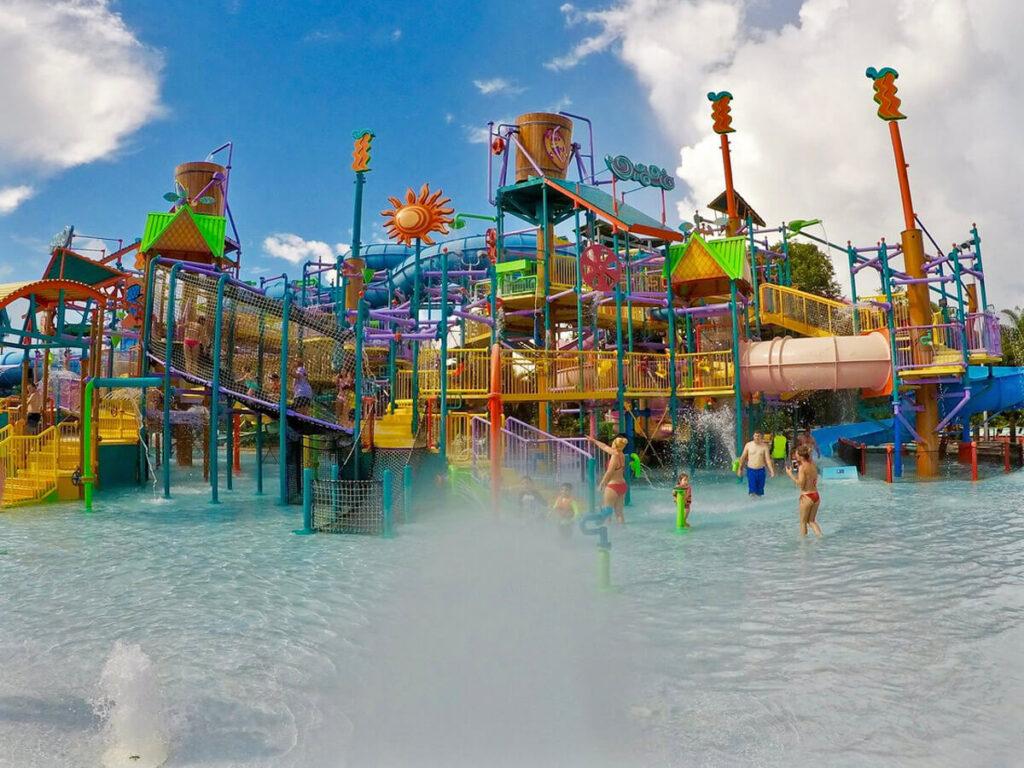 Kinder Aqua Park im Aquatica