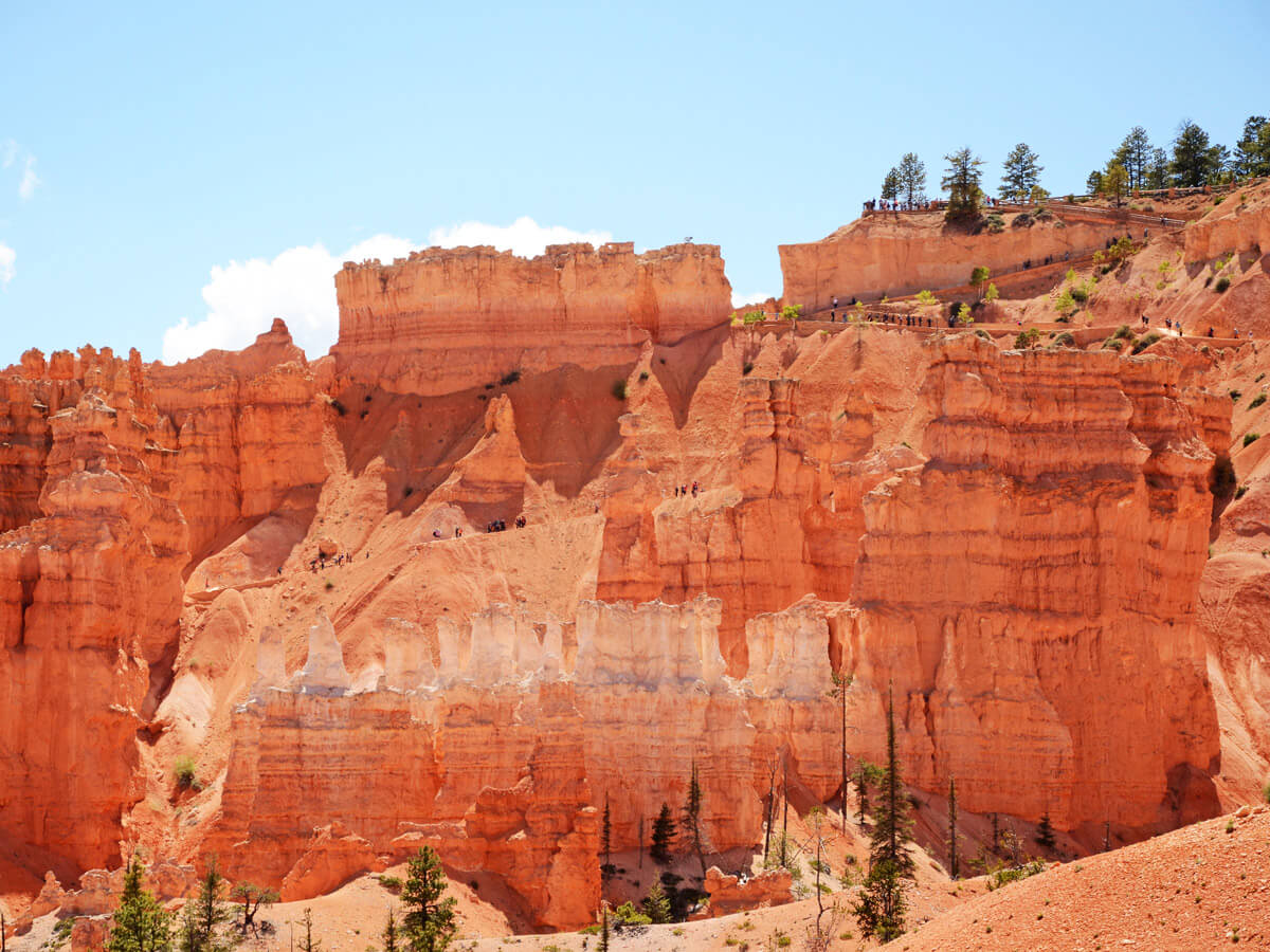 Rote Wand im Bryce Canyon