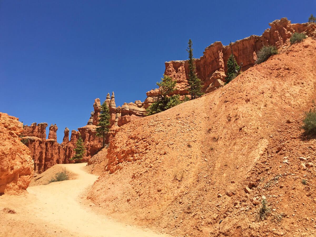 Wanderweg im Brace Canyon
