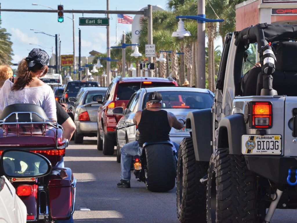 PS Power auf der Main Street in Daytona Beach