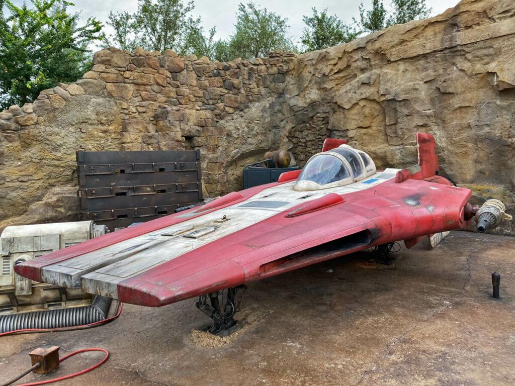 Star Wars Raumschiff im Disney Hollywood Studio