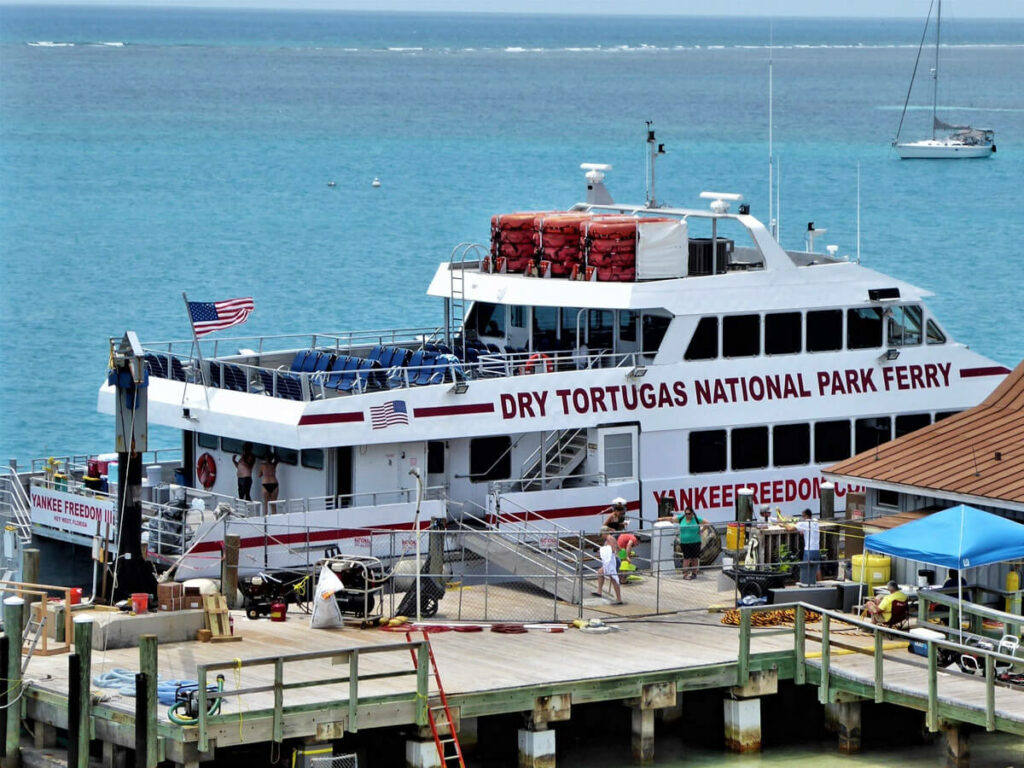 Fähre zum Dry Tortuga NP Yankee Freedom