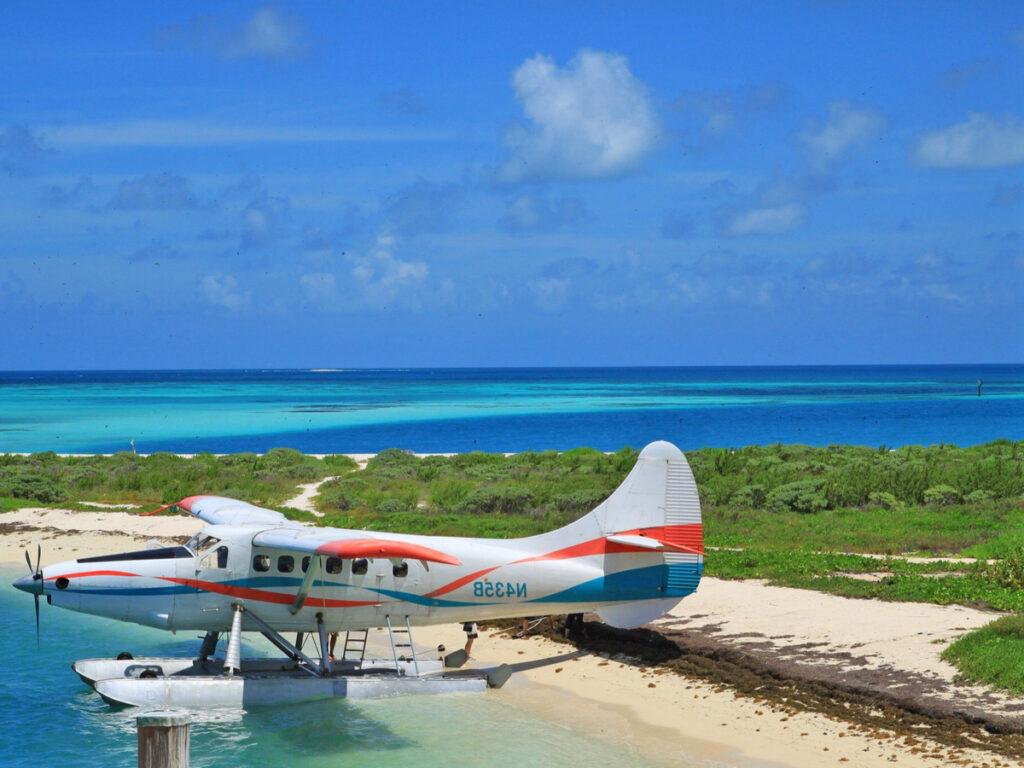 Wasserflugzeug auf Dry Tortugas