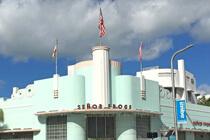 Art Deco Gebäude in Miami Beach