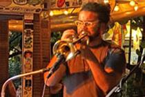 Sänger auf der Duval Street