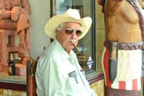 Berühmter Zigarren Mann in Little Havana
