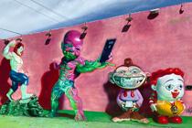 Graffiti im Stadtteil Wynwood Miami