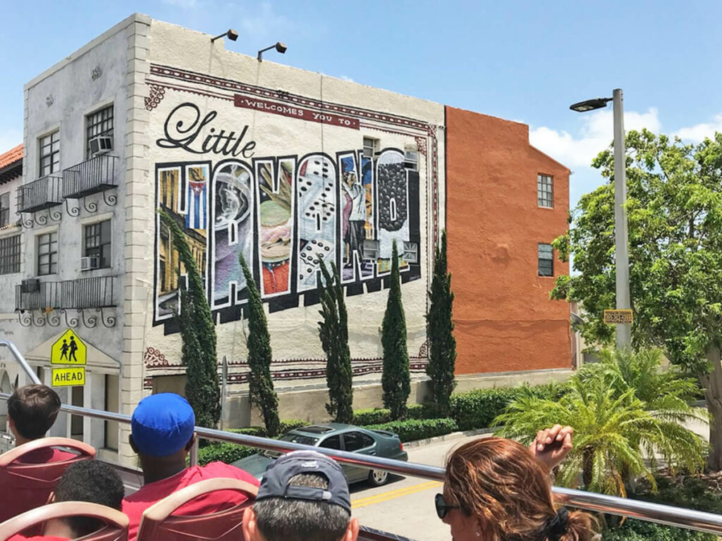 Blick vom Bus auf LIttle Havana