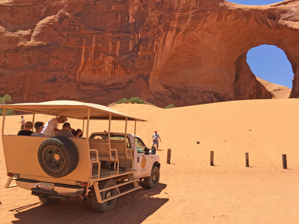 Zwischenstopp auf der Monument Valley Tour