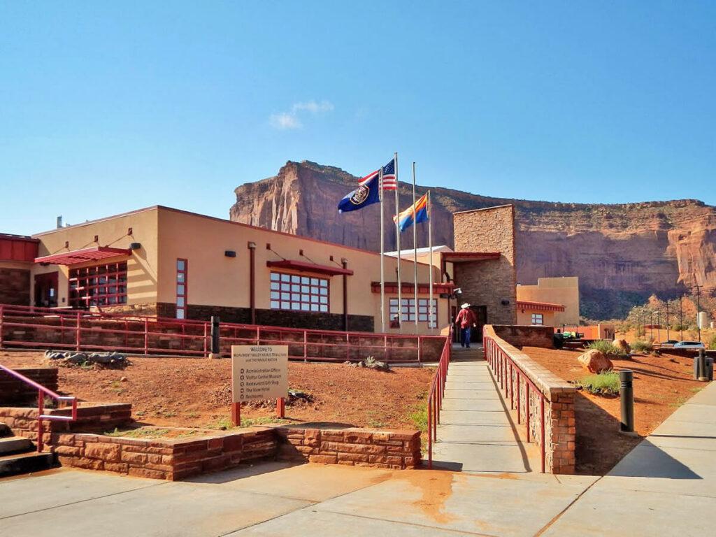 Besucher Zentrum im Monument Valley