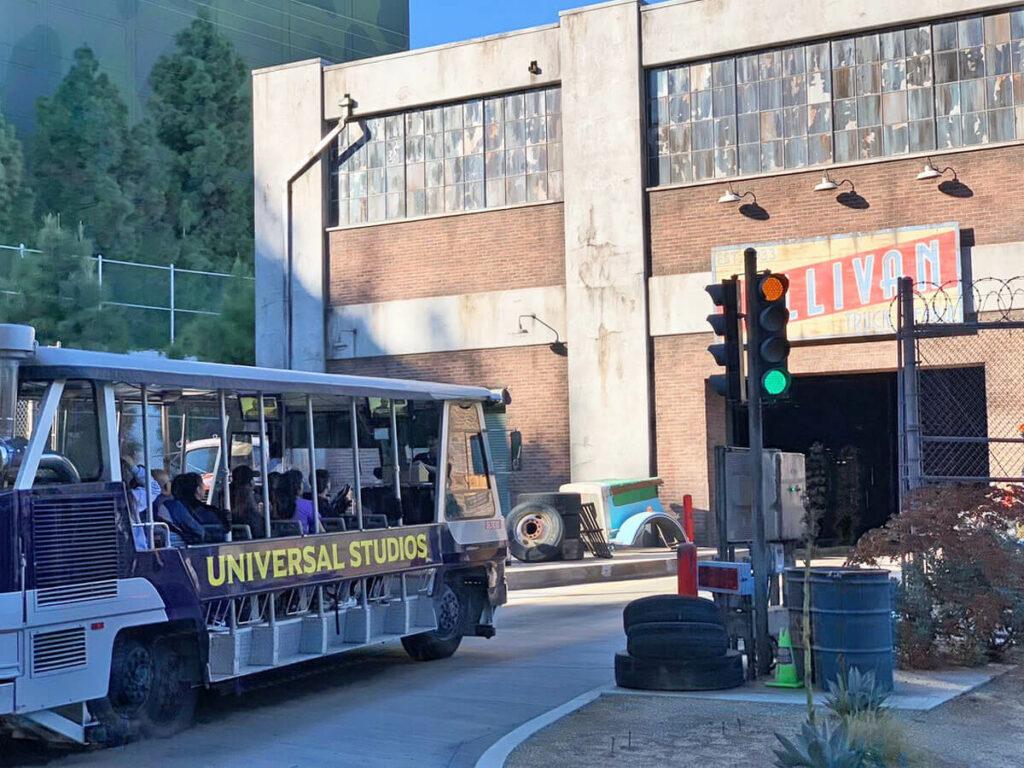 Bustour auf dem Gelände der Universal Studios