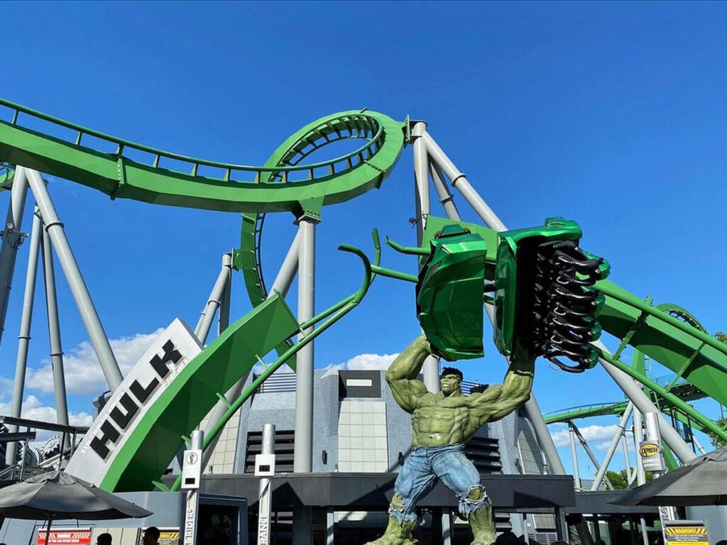 Hulk Achterbahn im Islands of Adventure