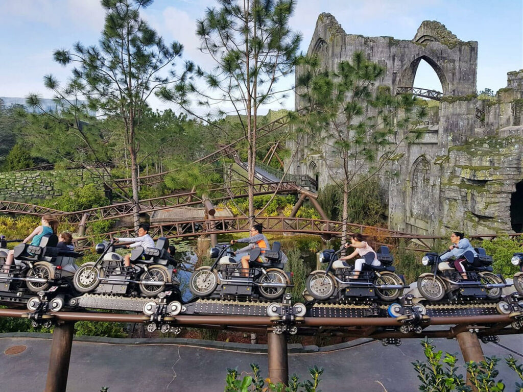 Harry Potter Motorrad Ride im Islands of Adventure