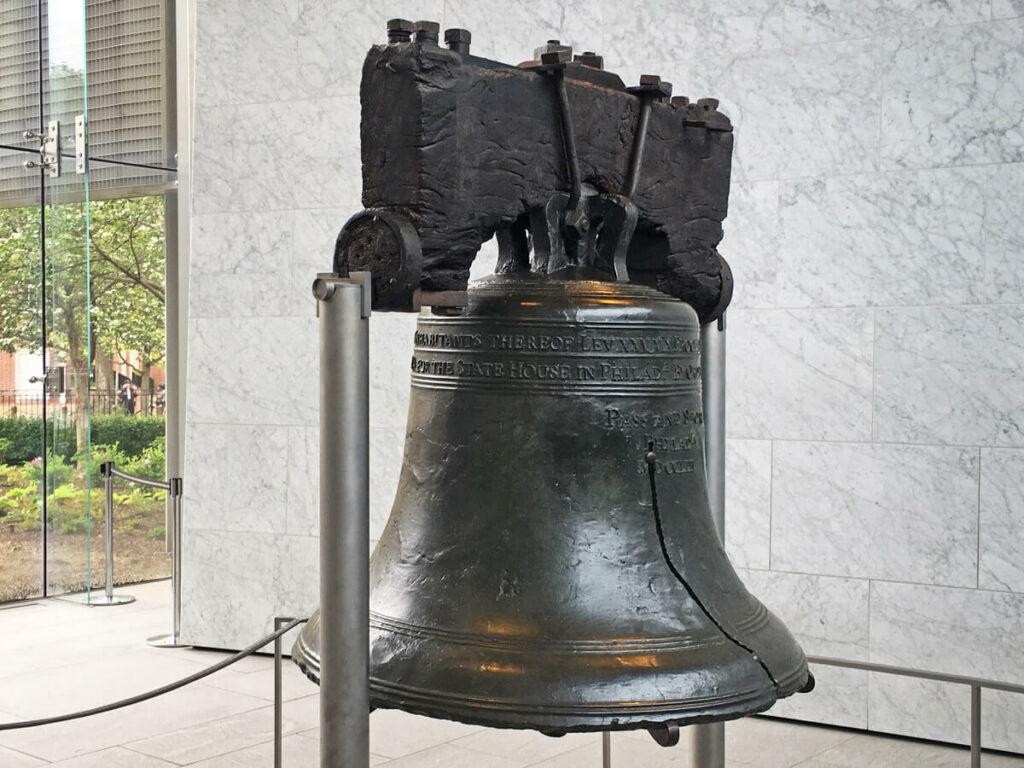 Liberty Bell im Nebengebäude der Independence Hall