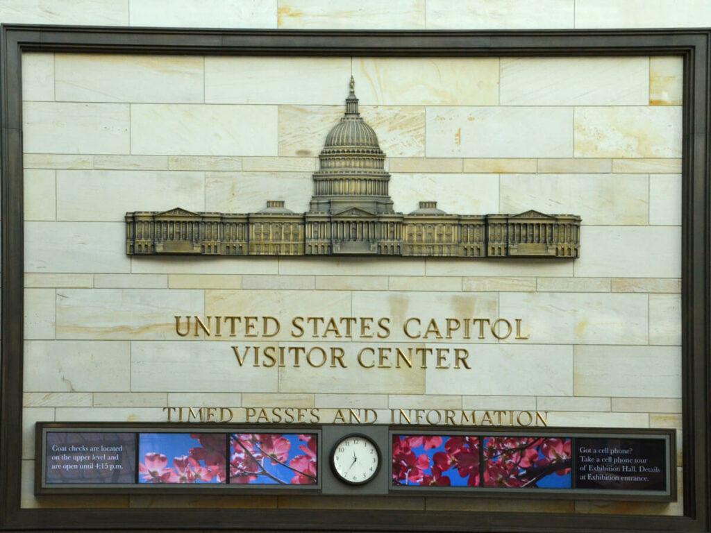 United States Capitil Visitor Center Uhr