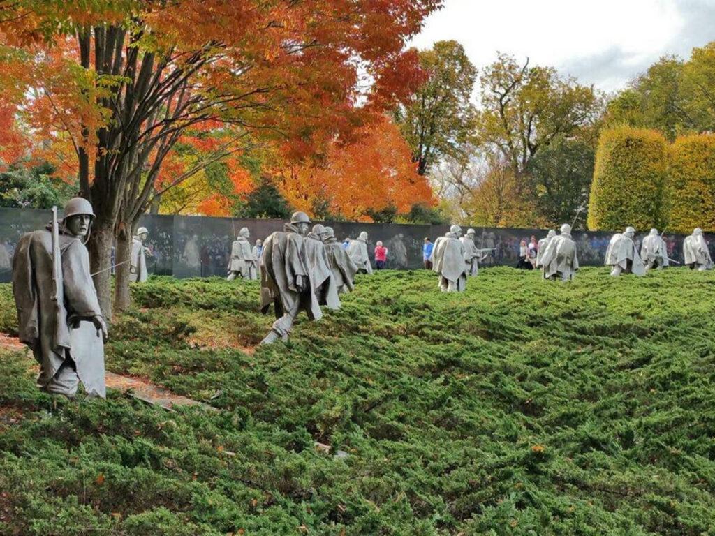Soldanten vom Korean War Veterans Memorial