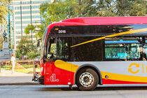 Kostenlose Busse bringen Sie zu den Sehenswürdigkeiten in Washington