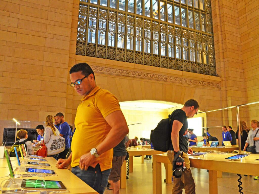 Apple Store im Bahnhof
