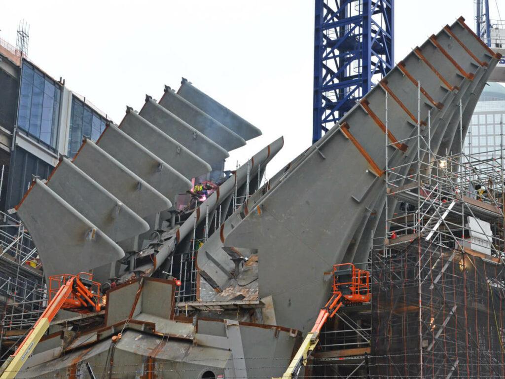Bauarbeiten am World Trade Center