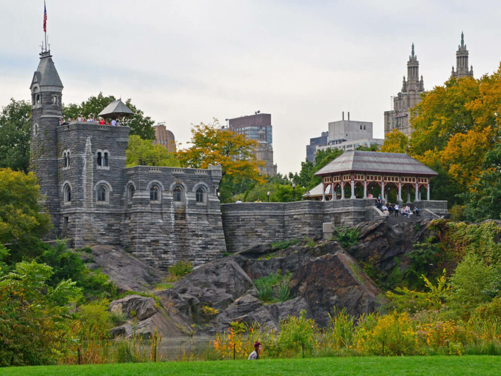Alte Burg im Central Park