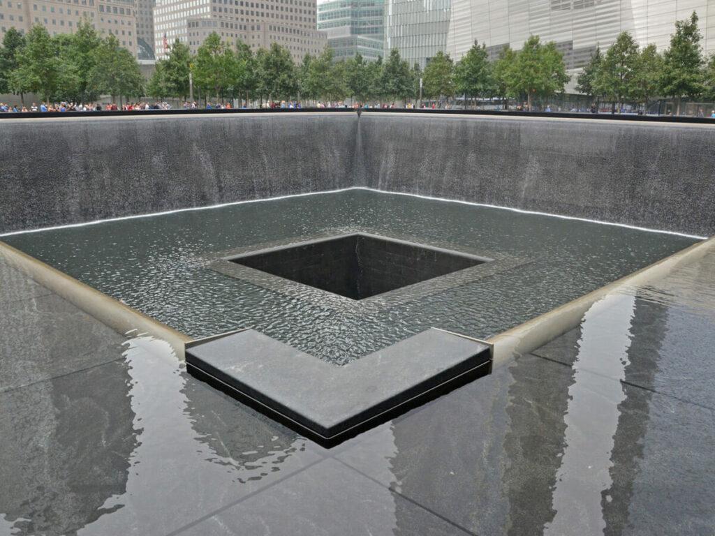 Brunnen am Ground Zero