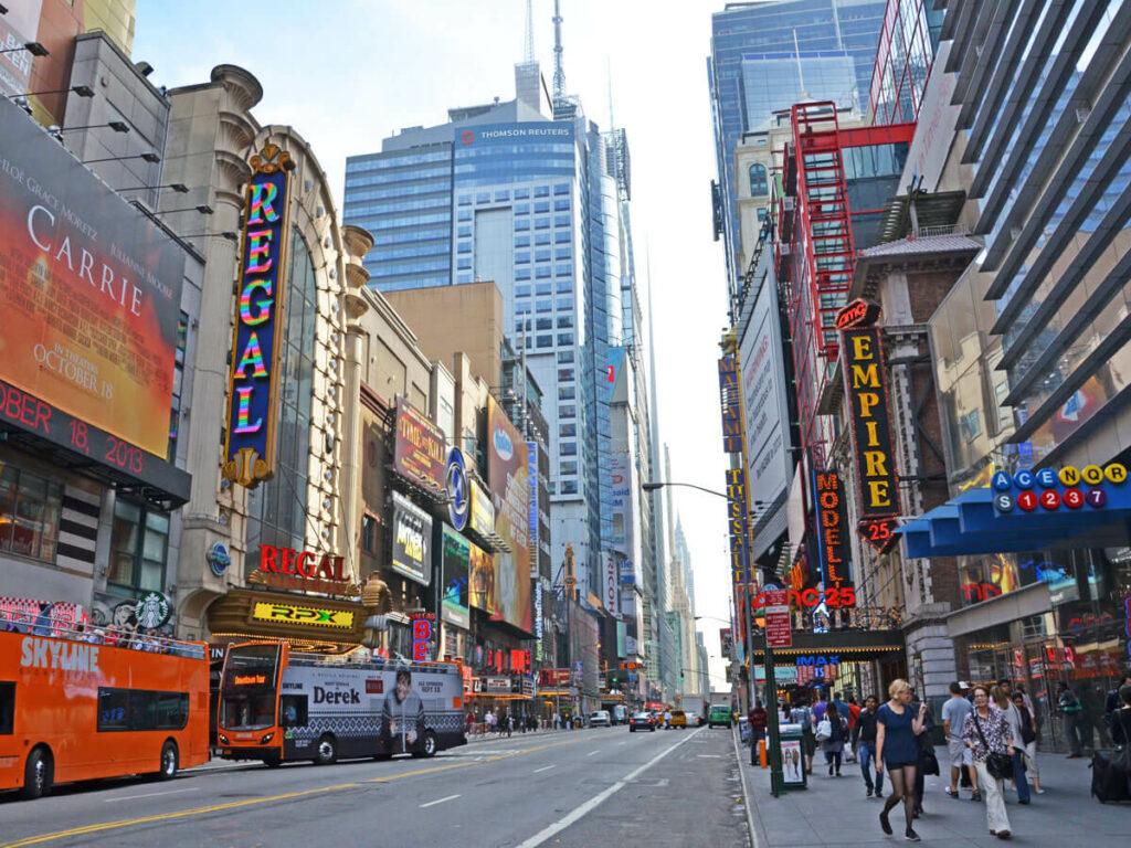 Metro Station nähe Times Square