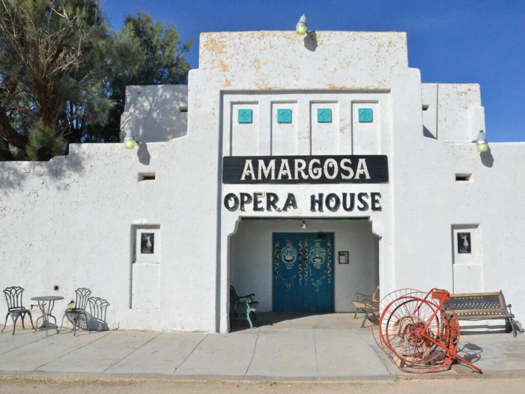 Eingang vom Amargosa Opera House