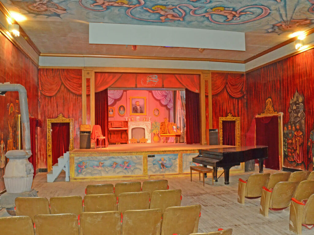 Bühne vom Amargosa Opera House