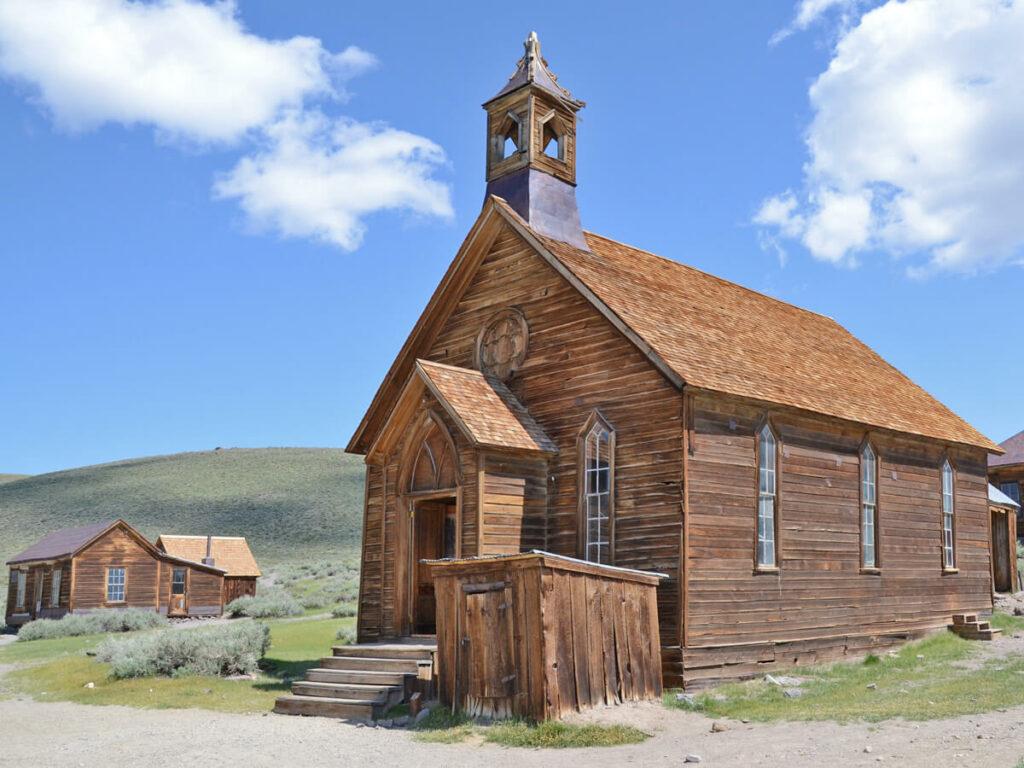 Dorfkirche in der Geisterstadt Bodie