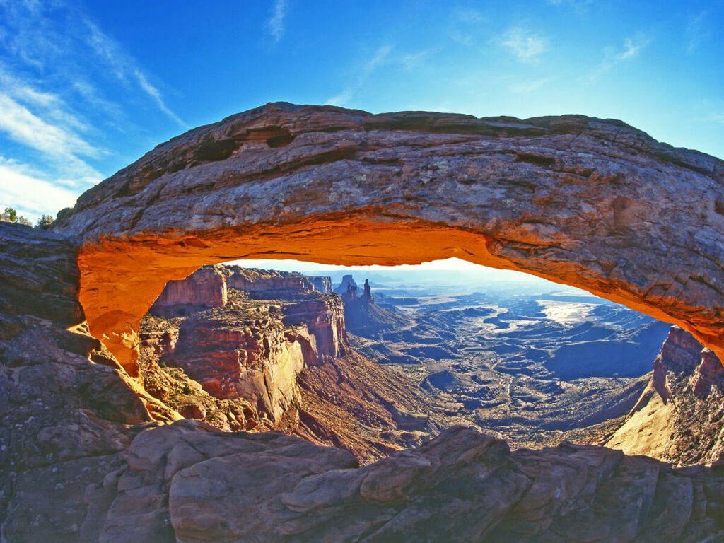 Mesa Arch im Canyonlands Utah