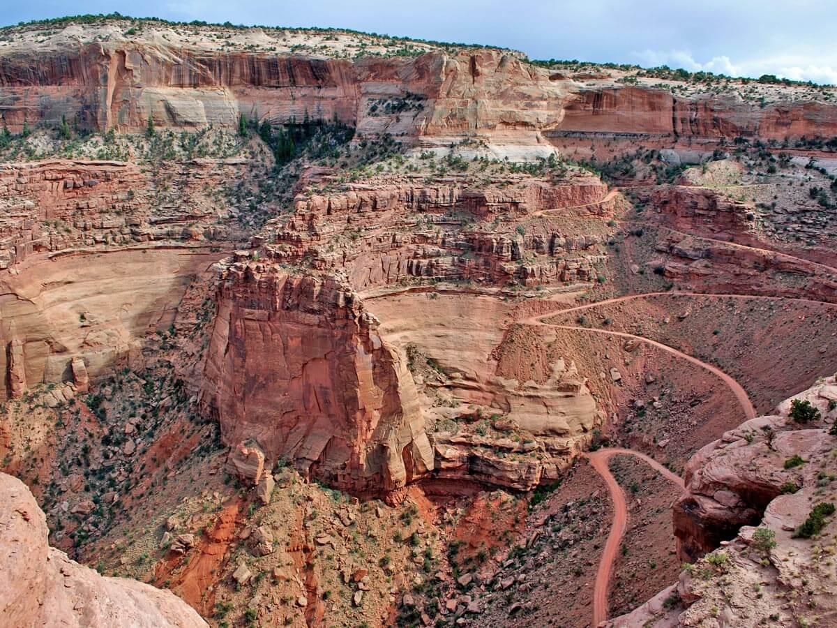 Studen im Canyonlands