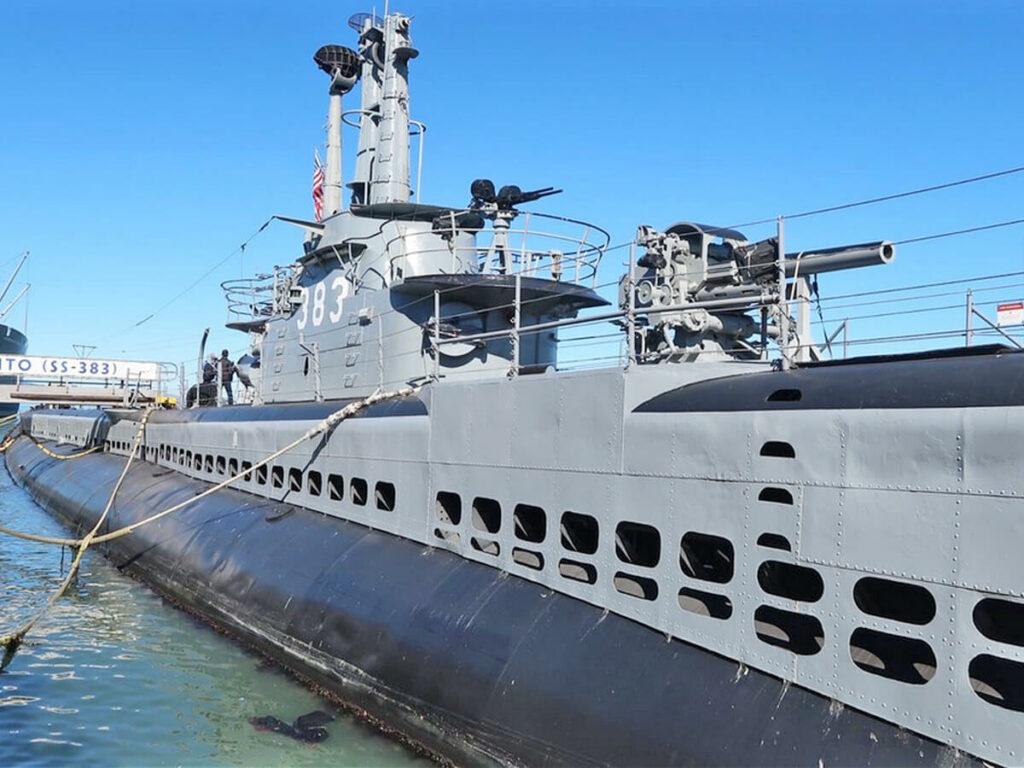 USS Pampanito vor der Fishermans Wharf