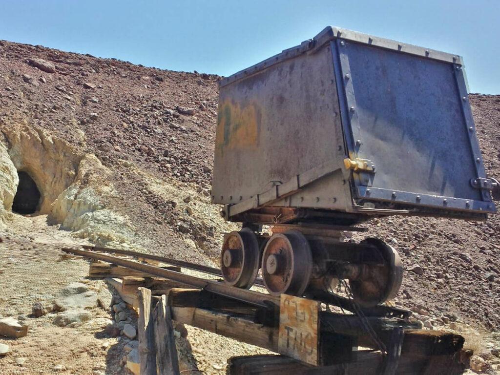 Mineneingang von Calico