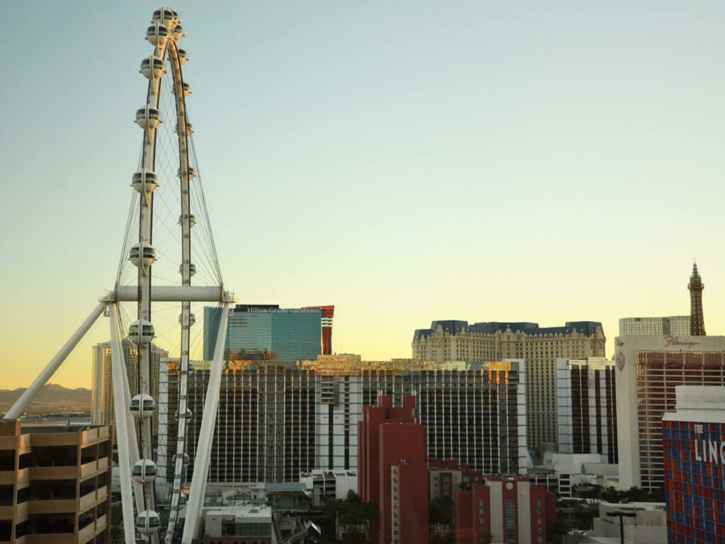 Höchste Riesenrad der Welt in Las Vegas