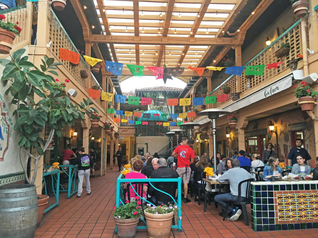 Cafe Coyote in Old Town San Diego