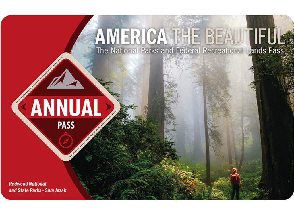 America the beautiful Karte 2021