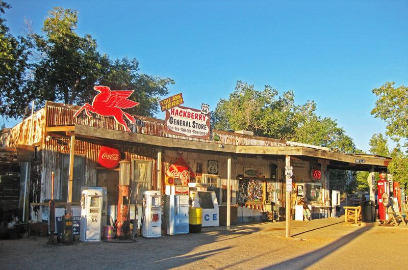 General Store in Hackberry auf der Route 66