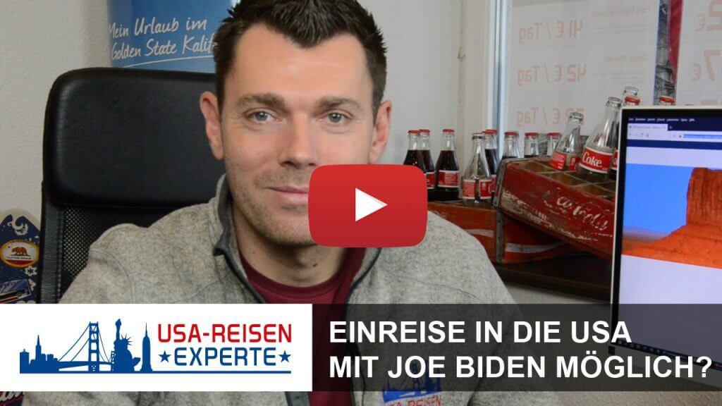 USA Reisen mit Joe Biden möglich