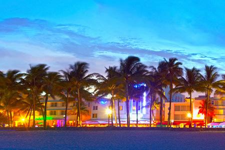 Ocean Drive im Miami Urlaub
