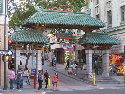 Drangon Tor Chinatown San Francisco