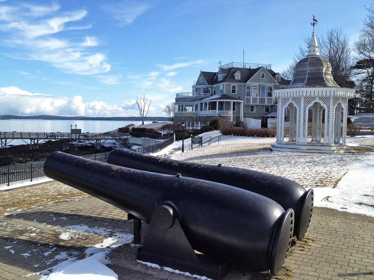Kanonen in Main Neuengland