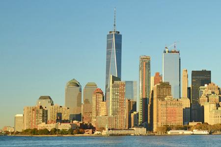 Skyline New York mit allen Sehenswürdigkeiten