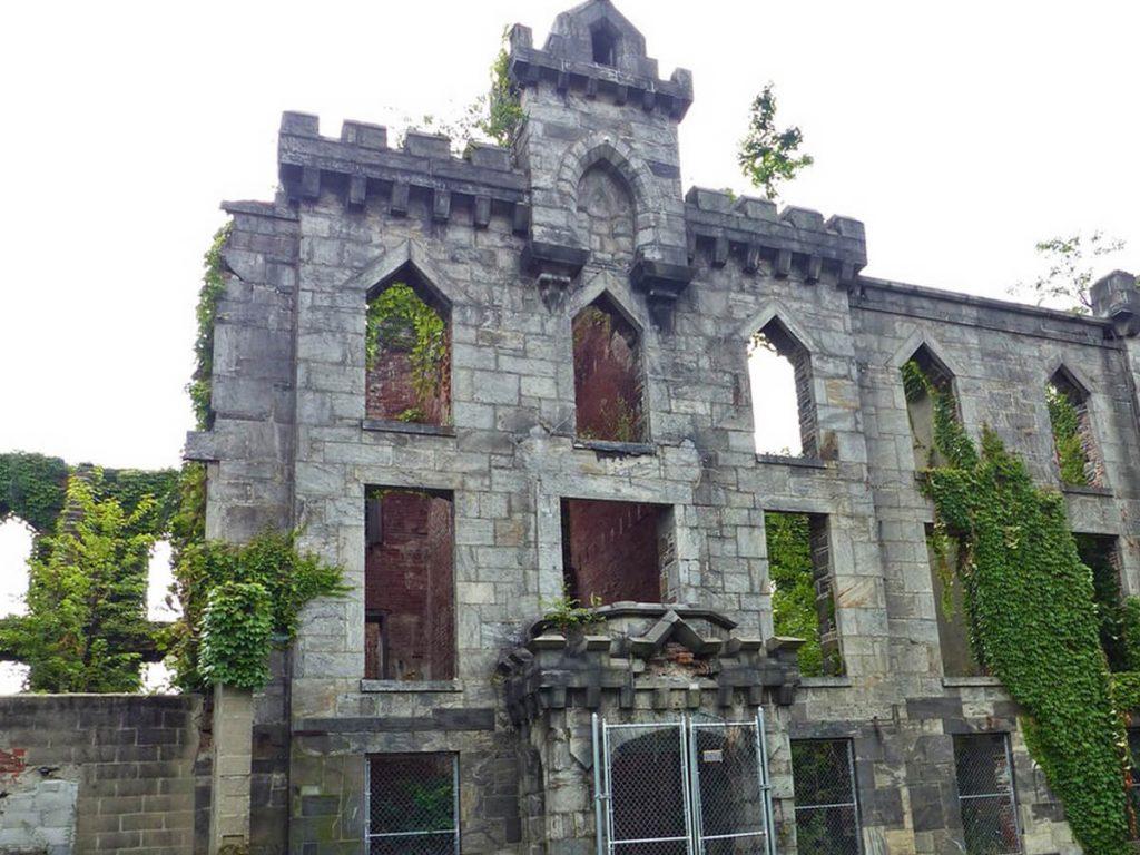 Altes Krankenhaus auf Roosevelt Island