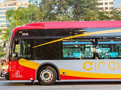 Kostenlose Busse um für alle Sehenswürdigkeiten in Washington